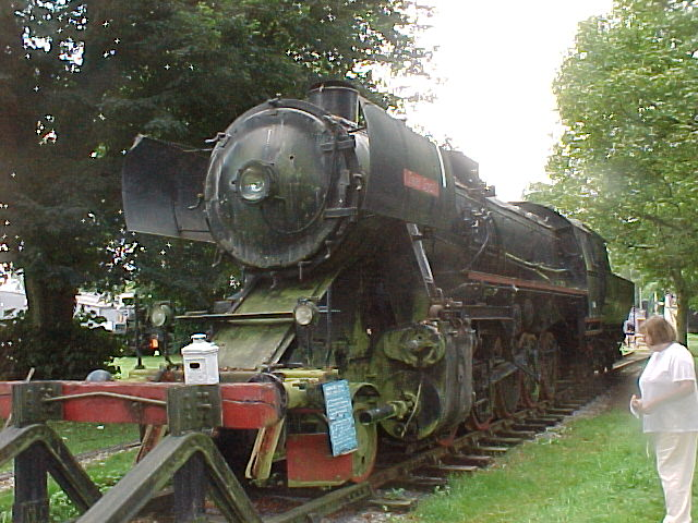 NSB 5865 in the Bressingham Steam  Museum (UK) August 2002(Schichau 4216/1944)